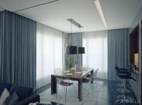modern apartment 1 dining room | Interior Design Ideas.