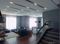 modern apartment 1 living room 2