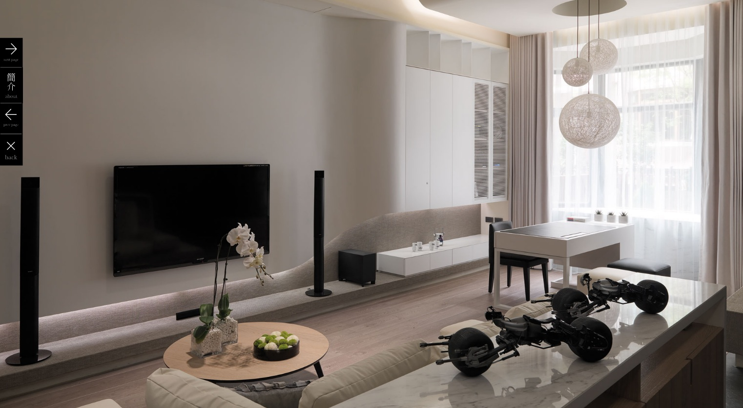 Modern Living Room Decoration Multi Level Contemporary Apartment