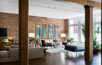 Brick Wall Studio Apartment by Stephan JAKLITSCH : GARDNER