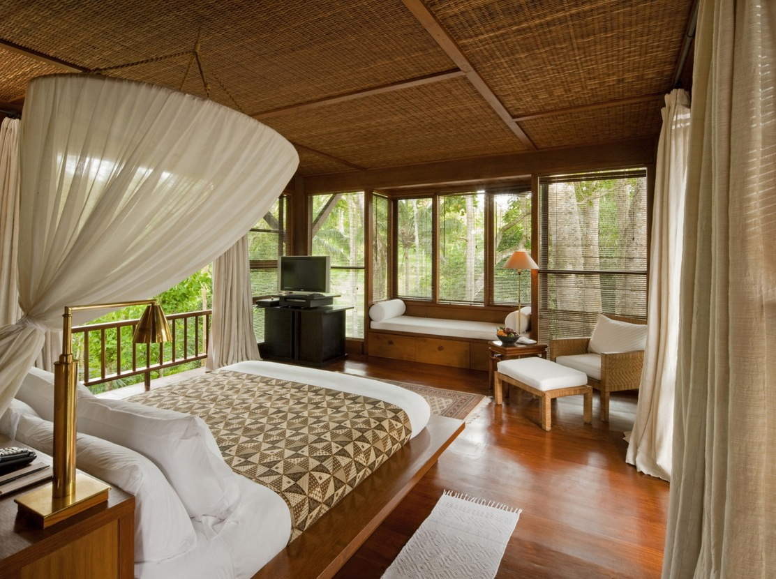 Bali Style Bedroom Como Shambhala Estate Bali Bamboo Matting And Wood