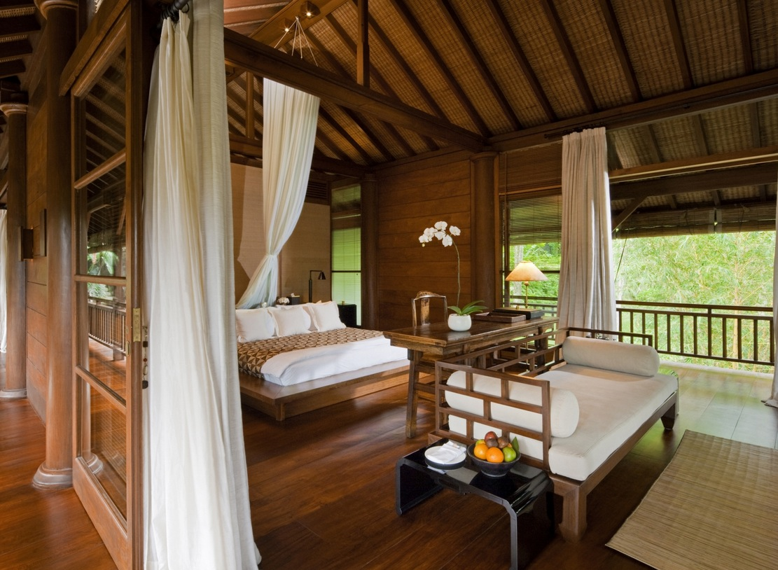 Bali Style Bedroom Como Shambhala Estate Bali Wooden And White Pavilion
