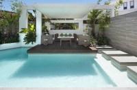 Custom Pool Area- outdoor lounge patio   Interior Design ...