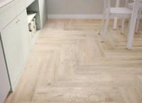 light wooden tiled kitchen floor white | Interior Design ...