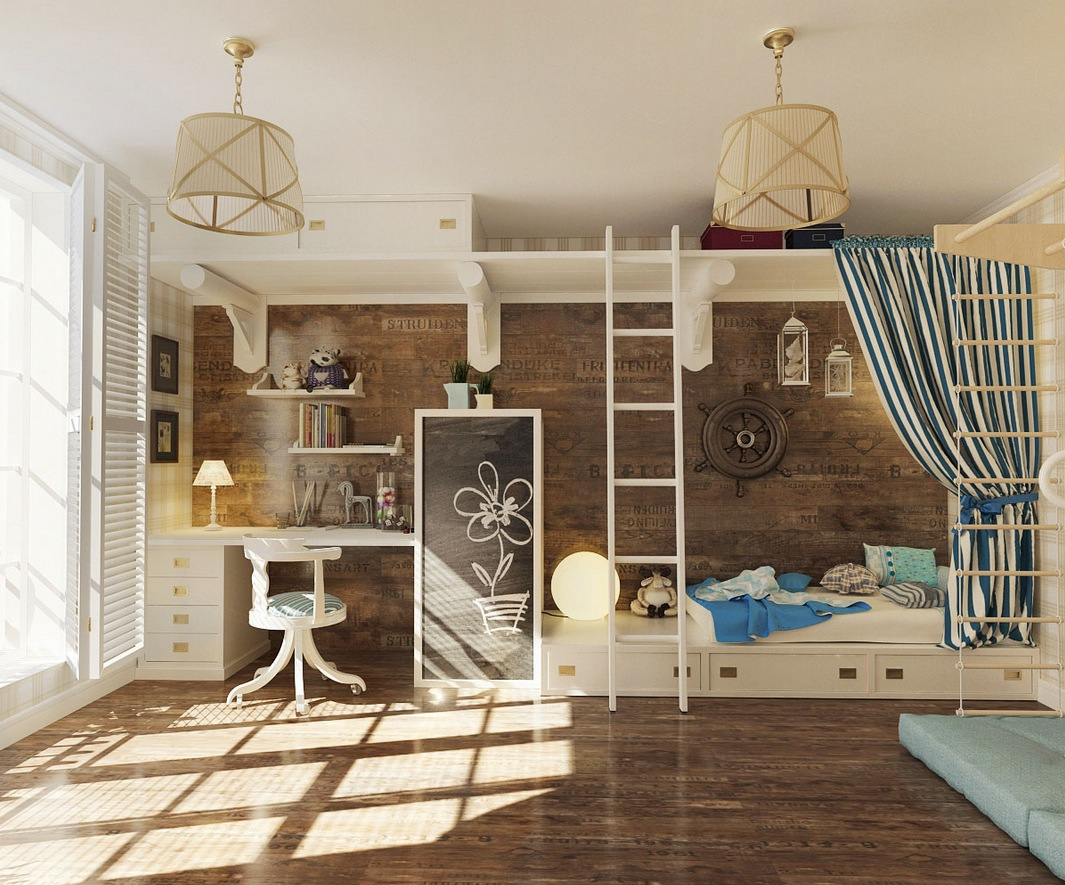 Unique Kid Rooms 12 Kids Bedrooms With Cool Built Ins