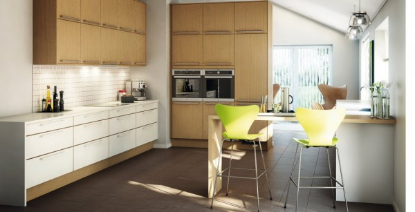 Java Stained Kitchen Cabinets Kitchens By Marbodal