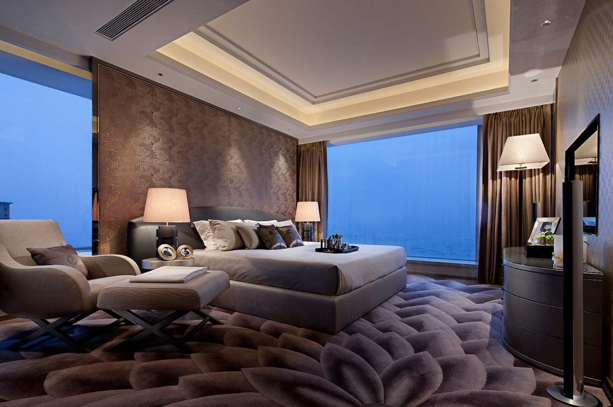 modern master bedroom 3