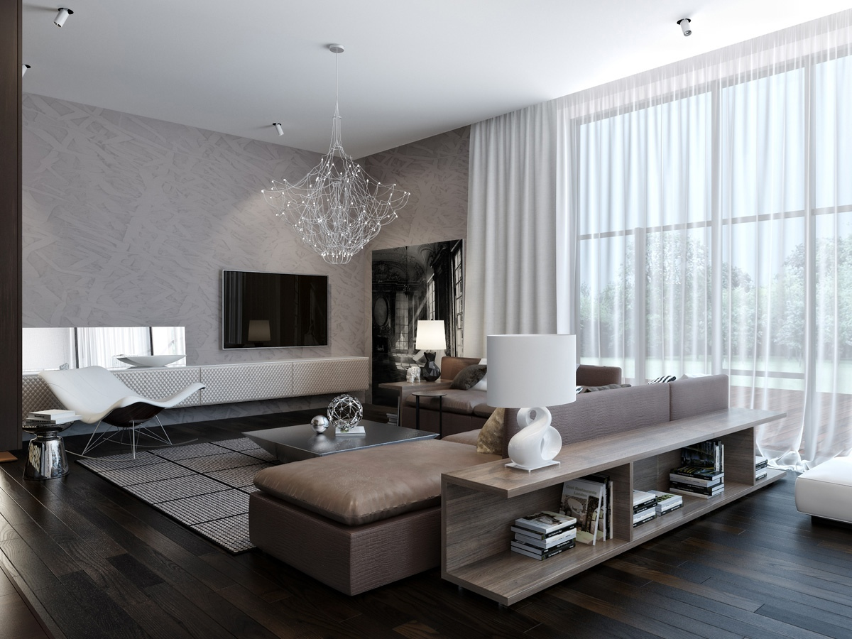 Modern Living Room Decoration Modern Neutral Living Room 1 Interior Design Ideas