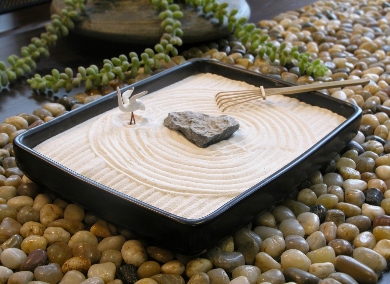 Office Zen Garden How To Make A Tiny Indoor Zen Garden
