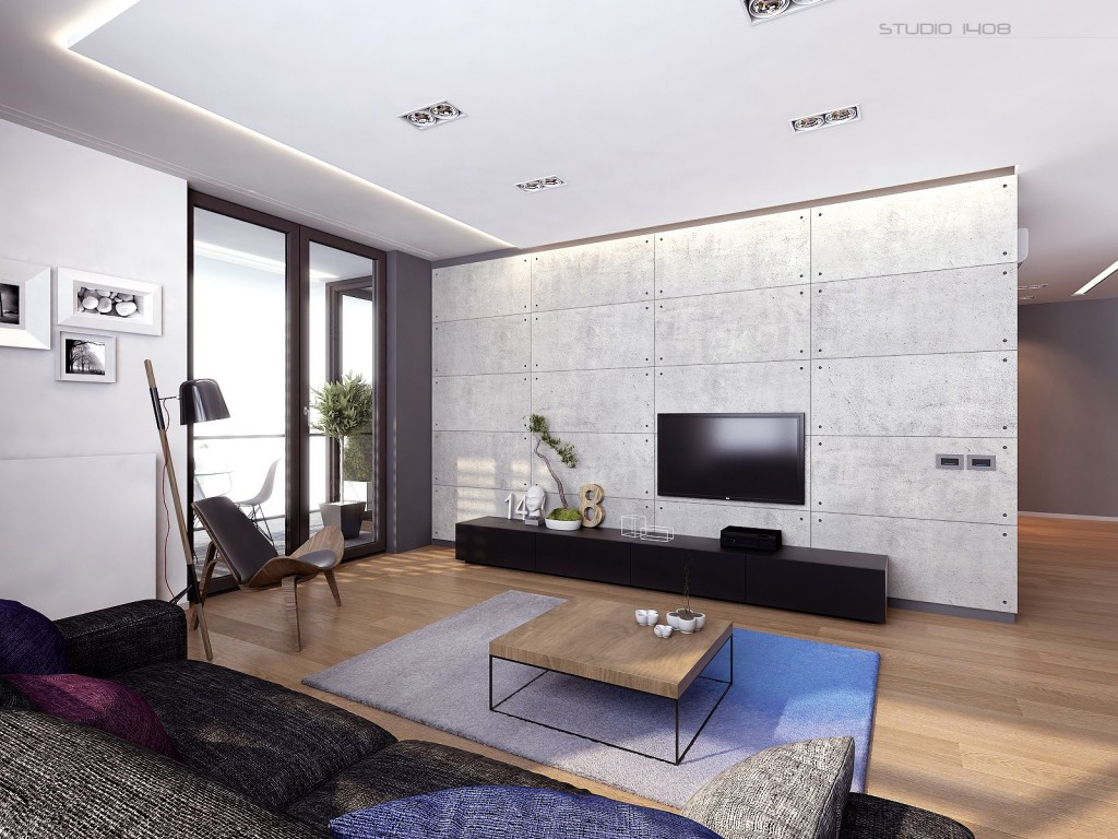 Modern Living Room Decoration Apartment Living For The Modern Minimalist