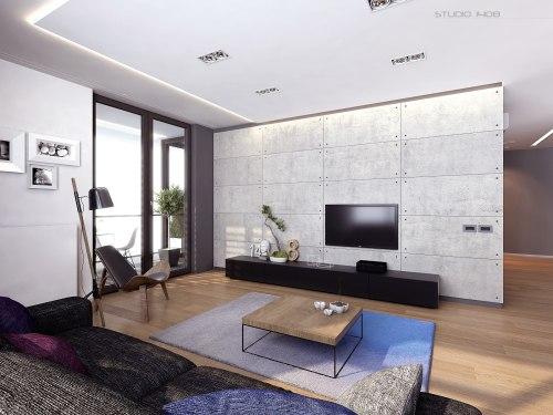 Medium Of Minimal Studio Apartment