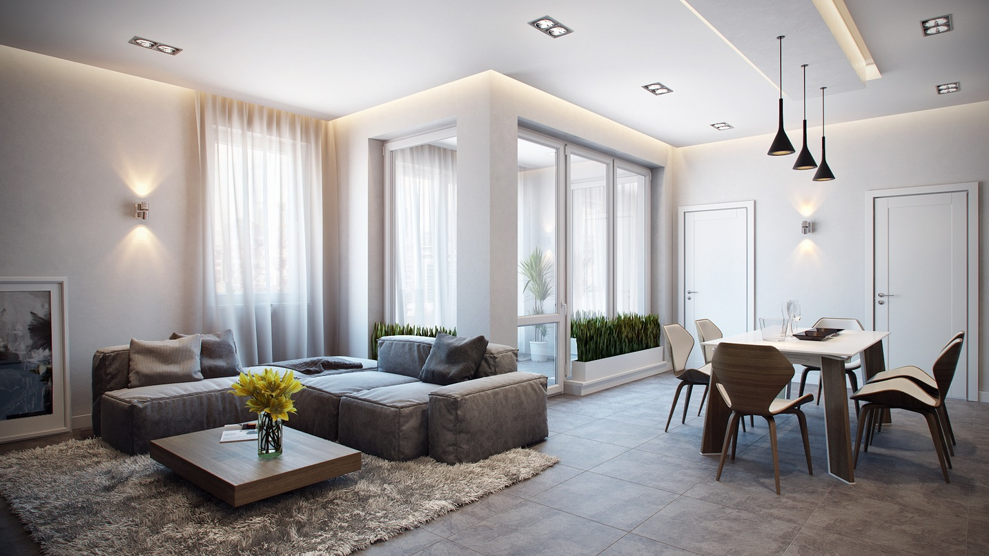 Apt Designs Stylish Apartment In Germany Visualized