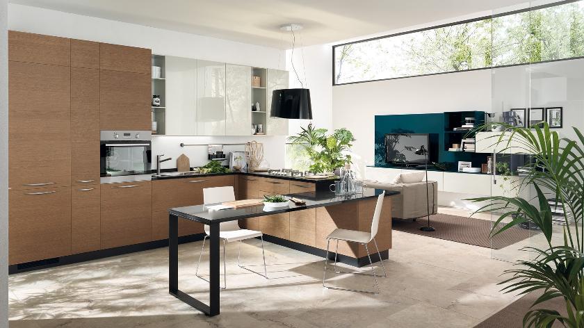 open kitchen living room space interior design ideas functional ideas kitchen living room design