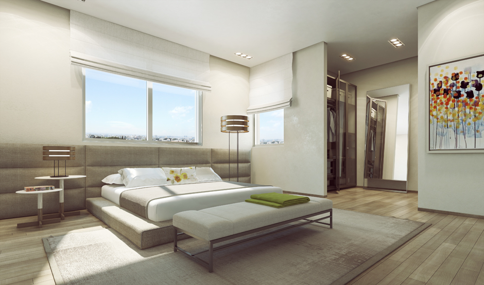 Bilderwand Gestalten Schlafzimmer Ando Studio: Modern Home And Luxury Apartment Renderings