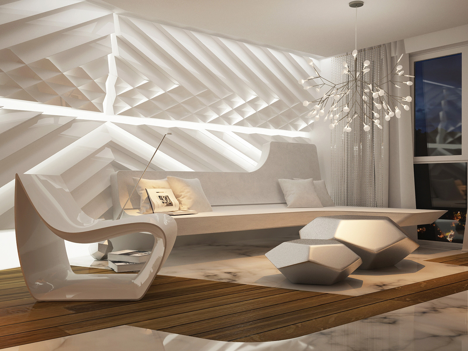 Interior Design Wall Decor Futuristic Interior Design