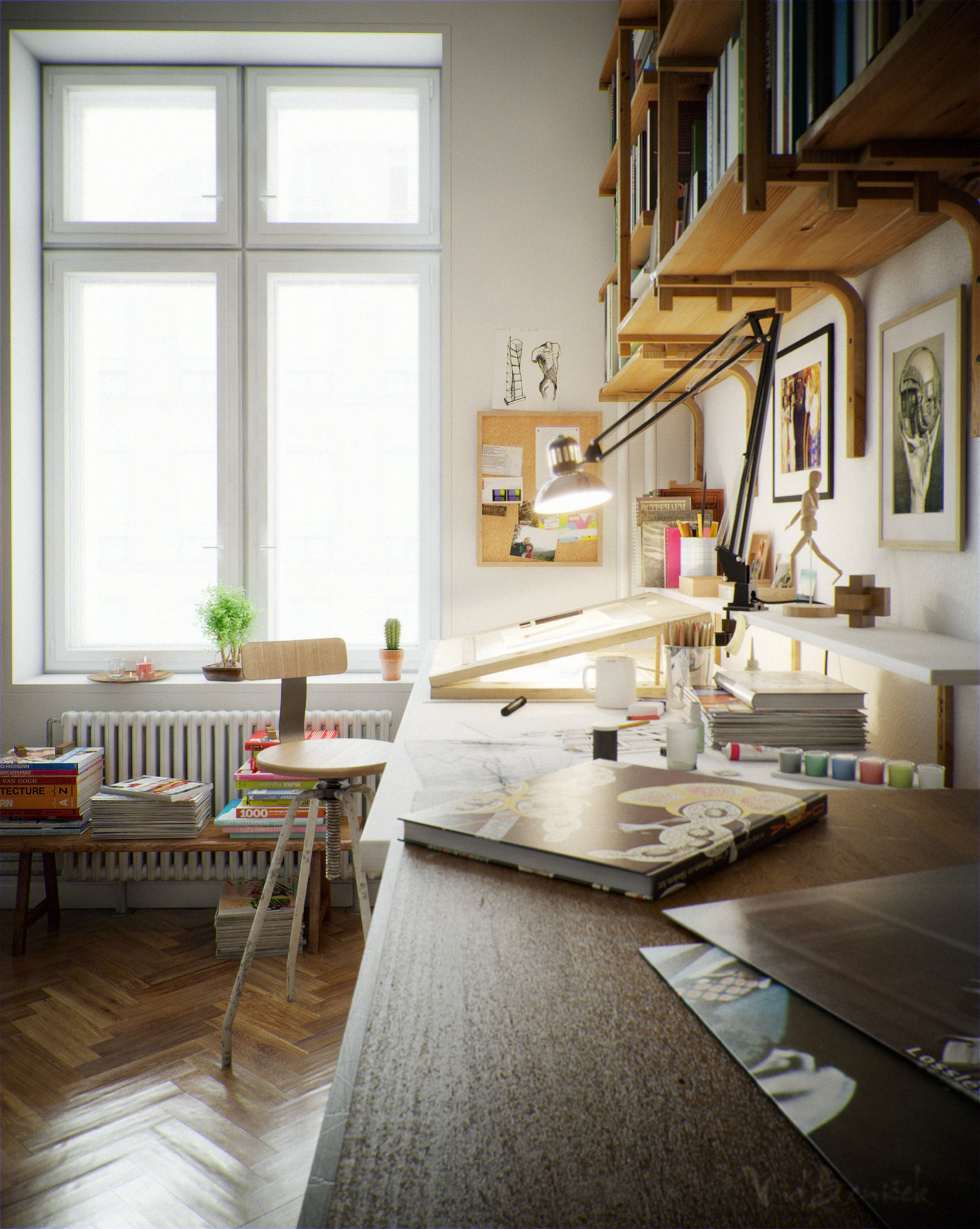 Art Studio Decor Beautiful Home Offices And Workspaces