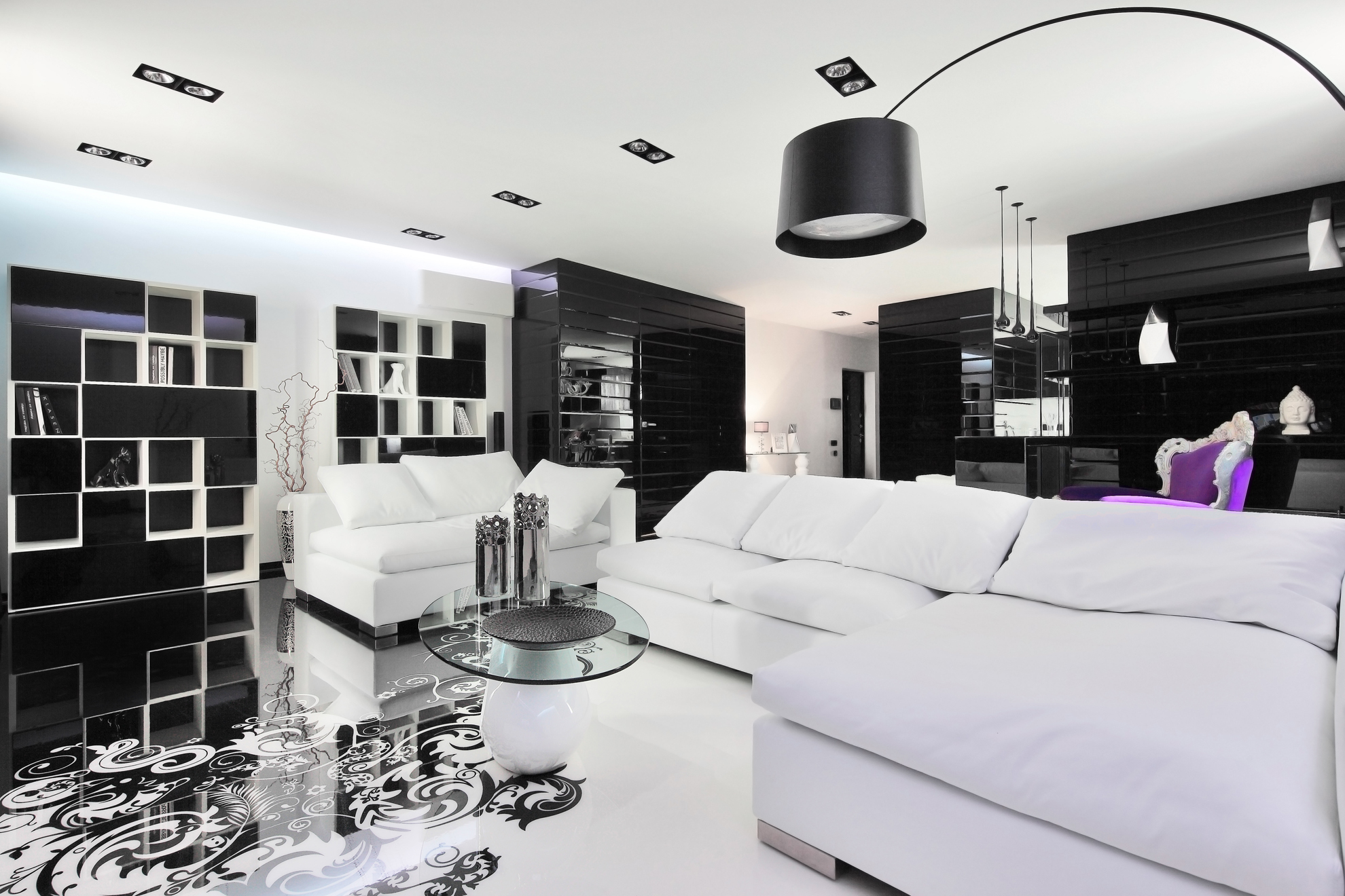 Black And White Pictures For Living Room Black And White Graphic Decor