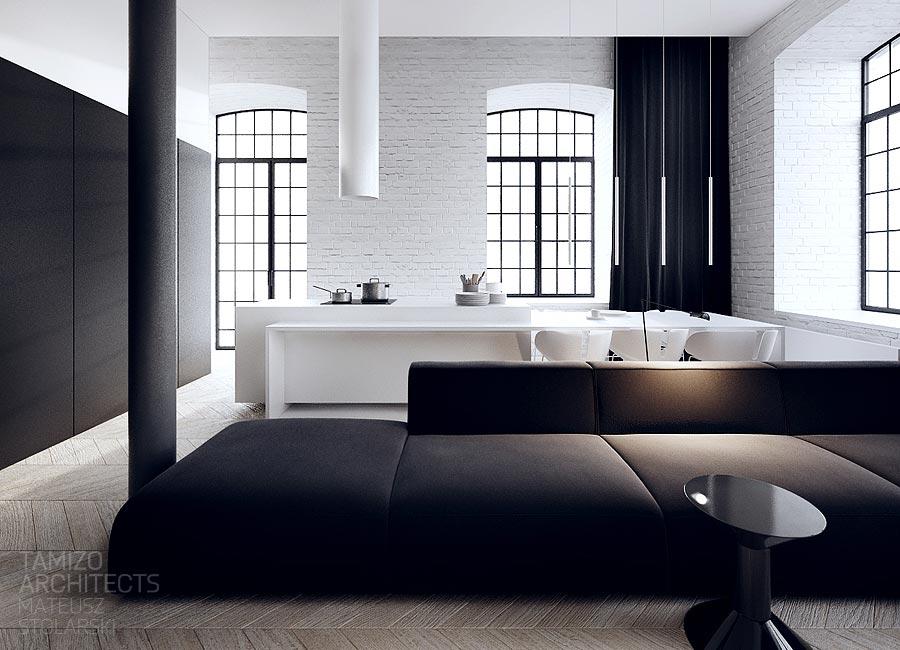 interior design black white house white interiors