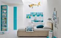 Aqua blue white bedroom | Interior Design Ideas.