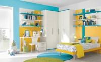 Blue yellow white bedroom decor | Interior Design Ideas.