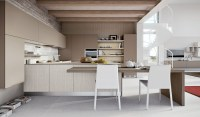 Beige kitchen | Interior Design Ideas.