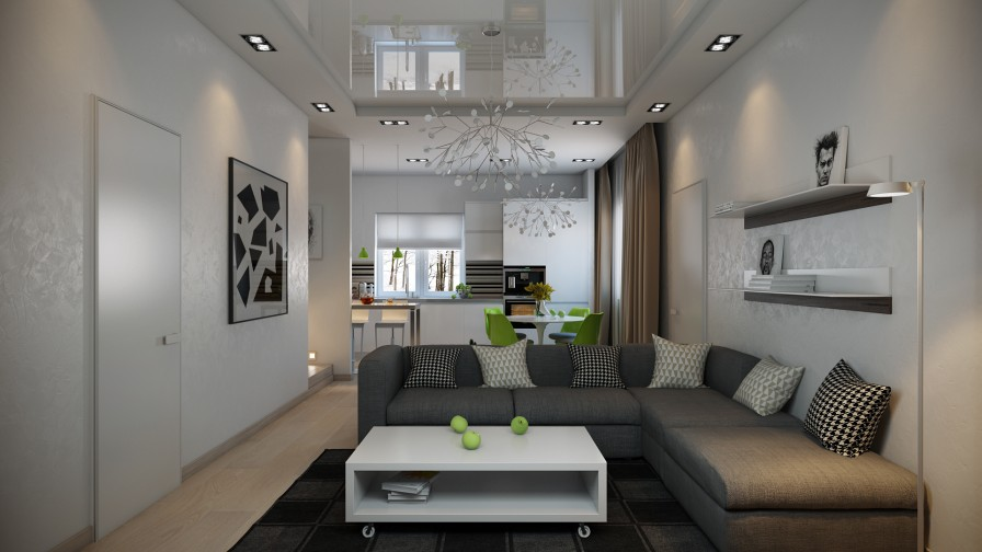 Sofa For Grey Living Room Three Striking Modern Home Designs