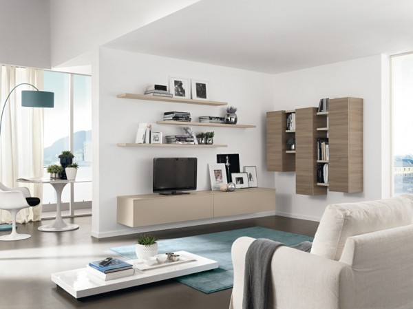 Modern Living Room Wall Units With Storage Inspiration - wall units for living rooms