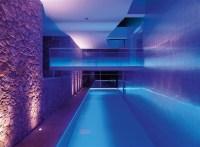 indoor pool lighting | Interior Design Ideas.