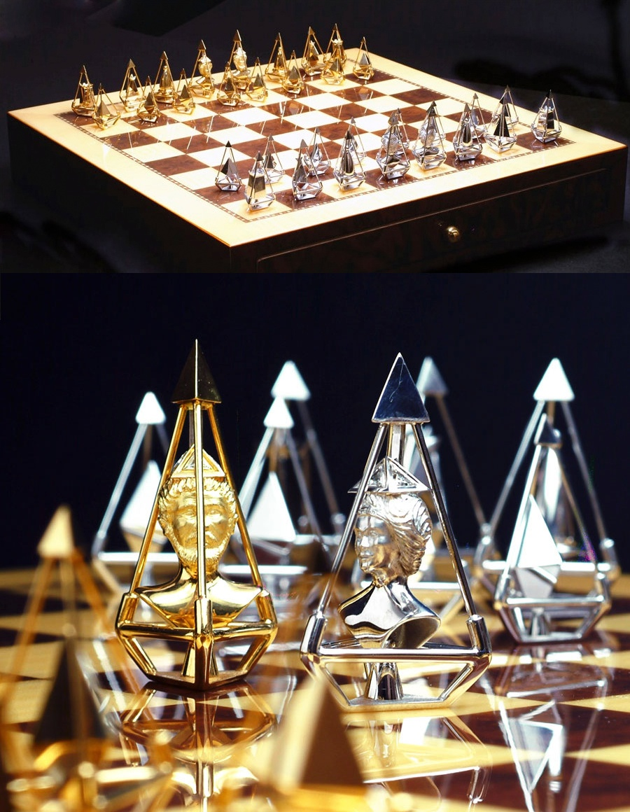 Gold Chess Pieces 30 Unique Home Chess Sets