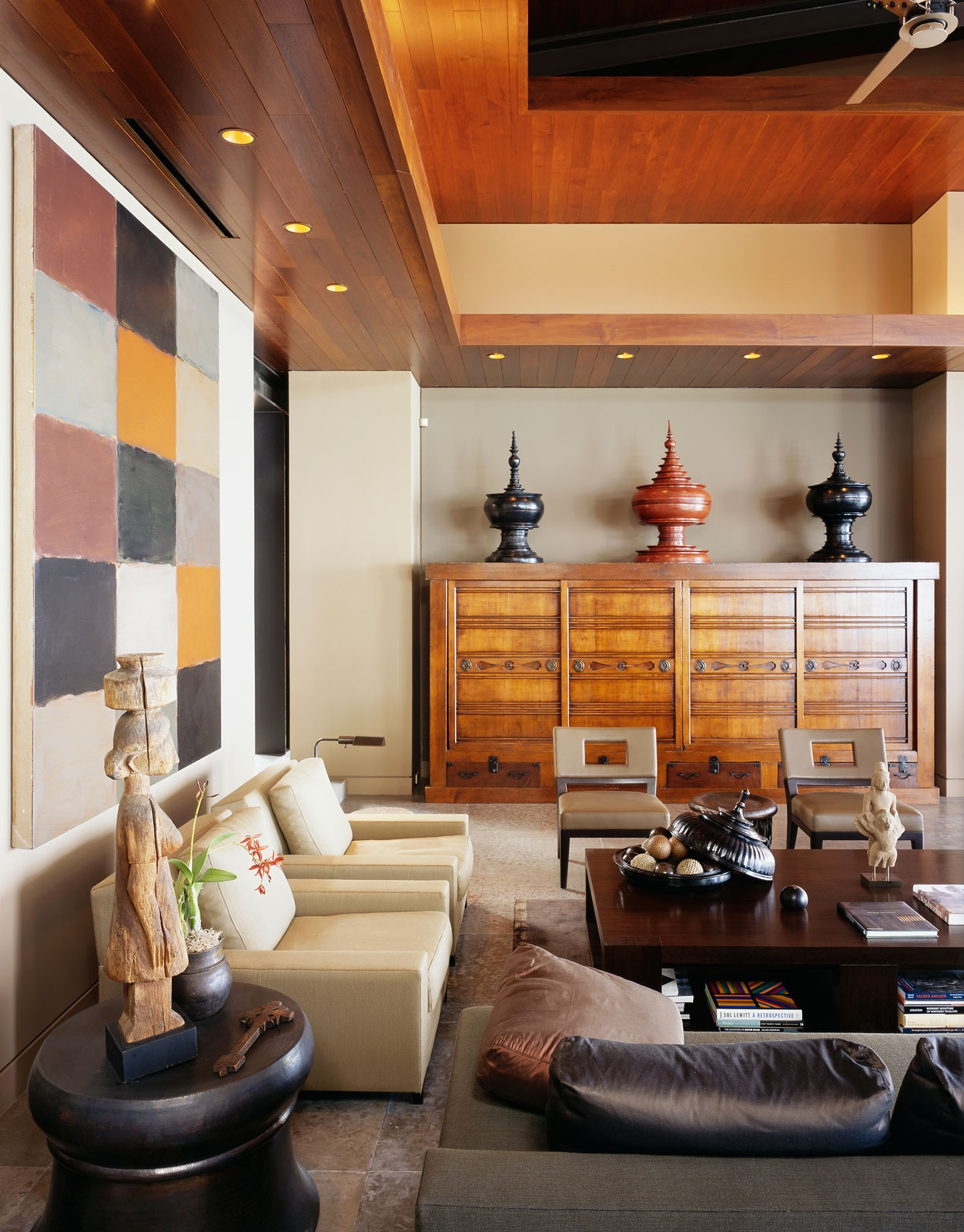 Home Interior Accents Beautiful Balinese Style House In Hawaii