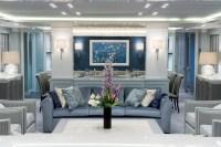 Blue living room | Interior Design Ideas.