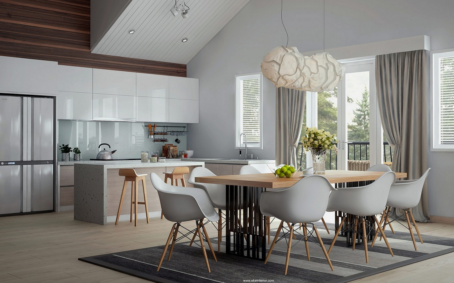 Decoracion De Interiores Modernos 20 Dining Rooms Visualized