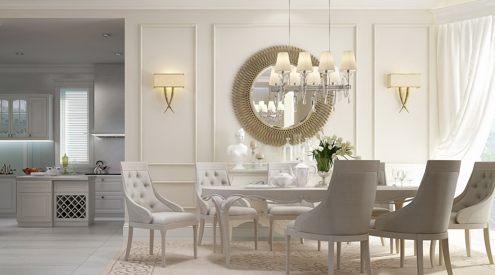 Luxurious Dining Rooms 20 Dining Rooms Visualized