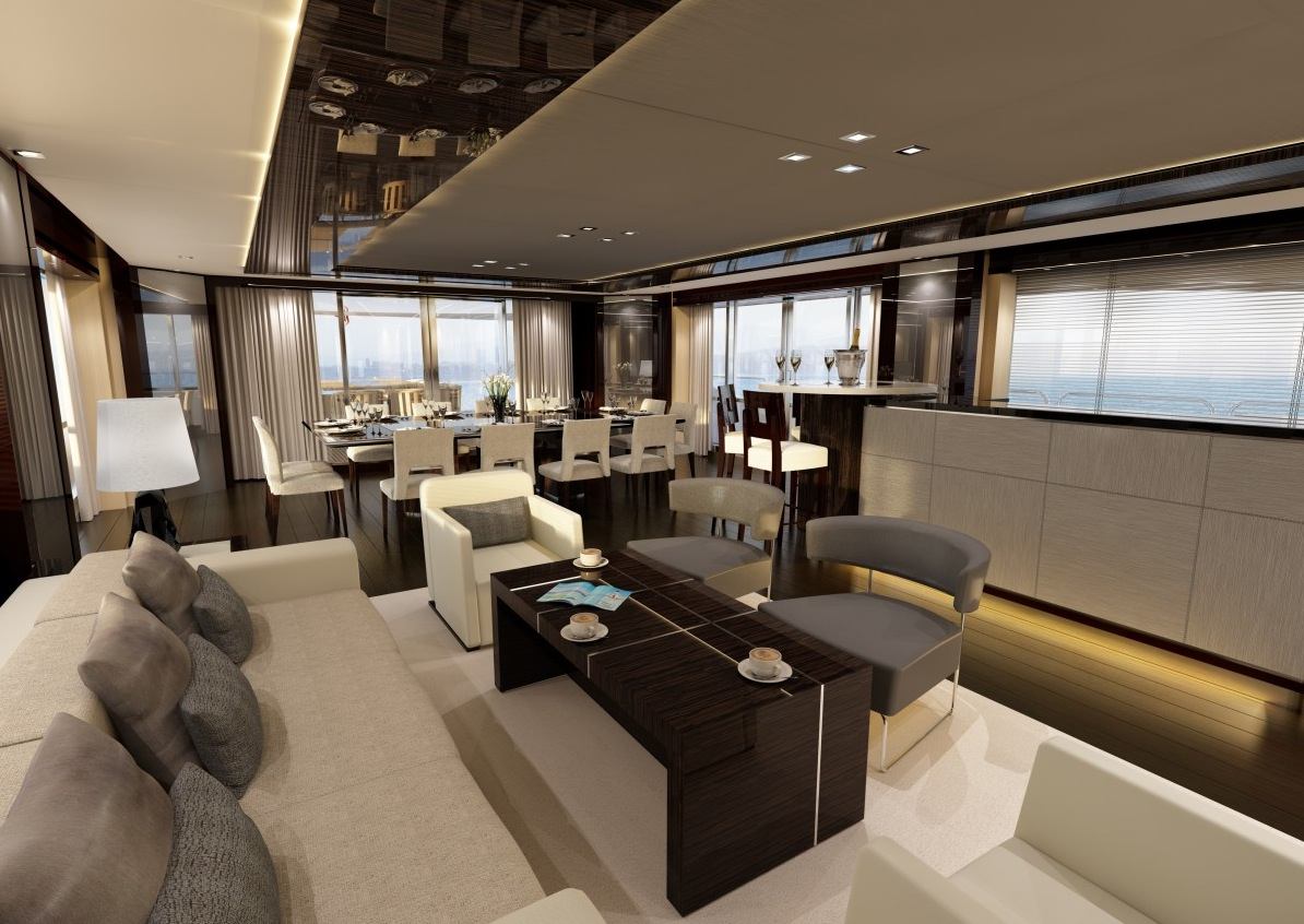Inside Luxury Yachts 80 43 Luxury Yacht Interior Design Decoration 2016