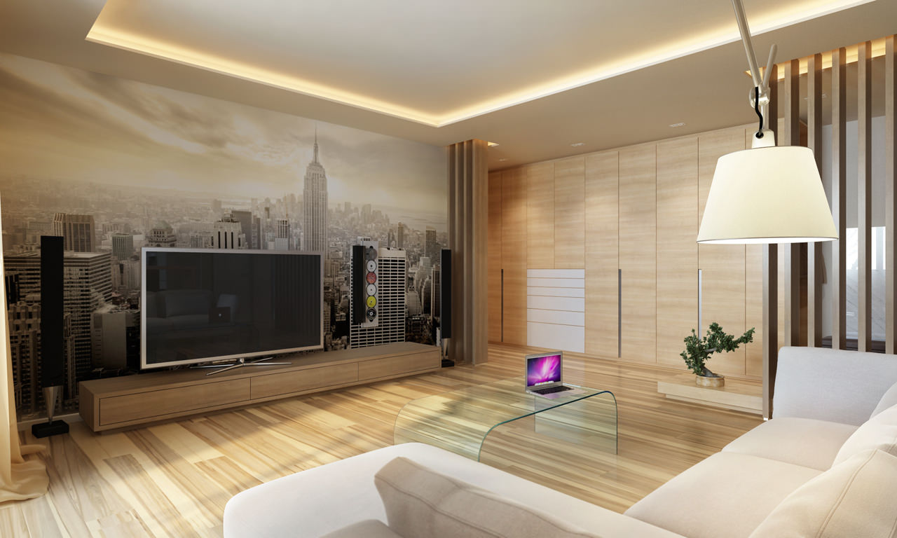 Eclairage Led Salon Three Apartments With Extra Special Lighting Schemes