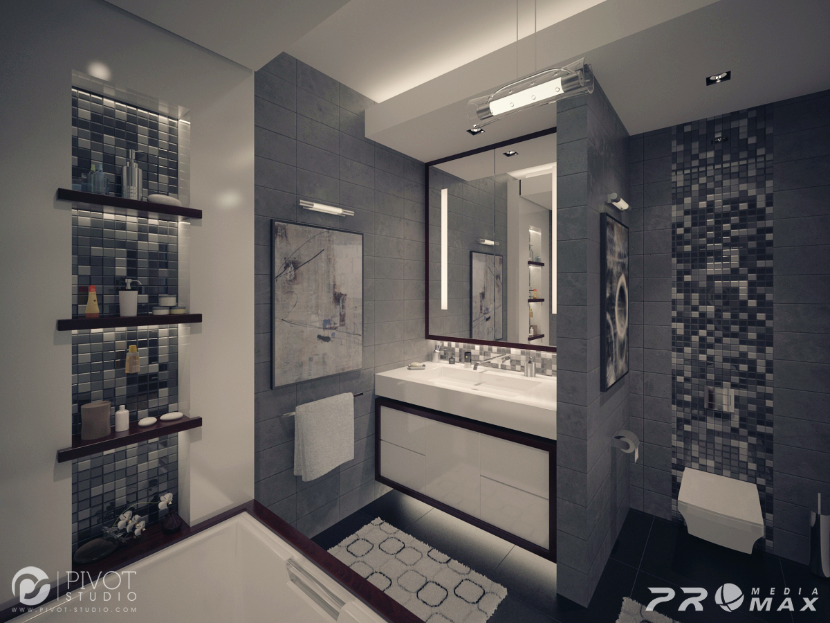 White And Gray Bathroom Ideas Gray White Bathroom Interior Design Ideas