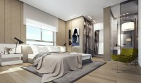 Modern Penthouse Bedroom | Interior Design Ideas.