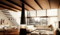 cozy-warm-living-room | Homes Architecture | Pinterest