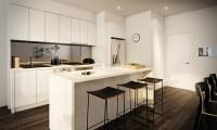 white apartment kitchen | Interior Design Ideas.