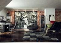 loft wall art work | Interior Design Ideas.