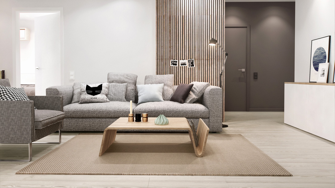 white walls wood floors apartment - Google Search Room Redecor