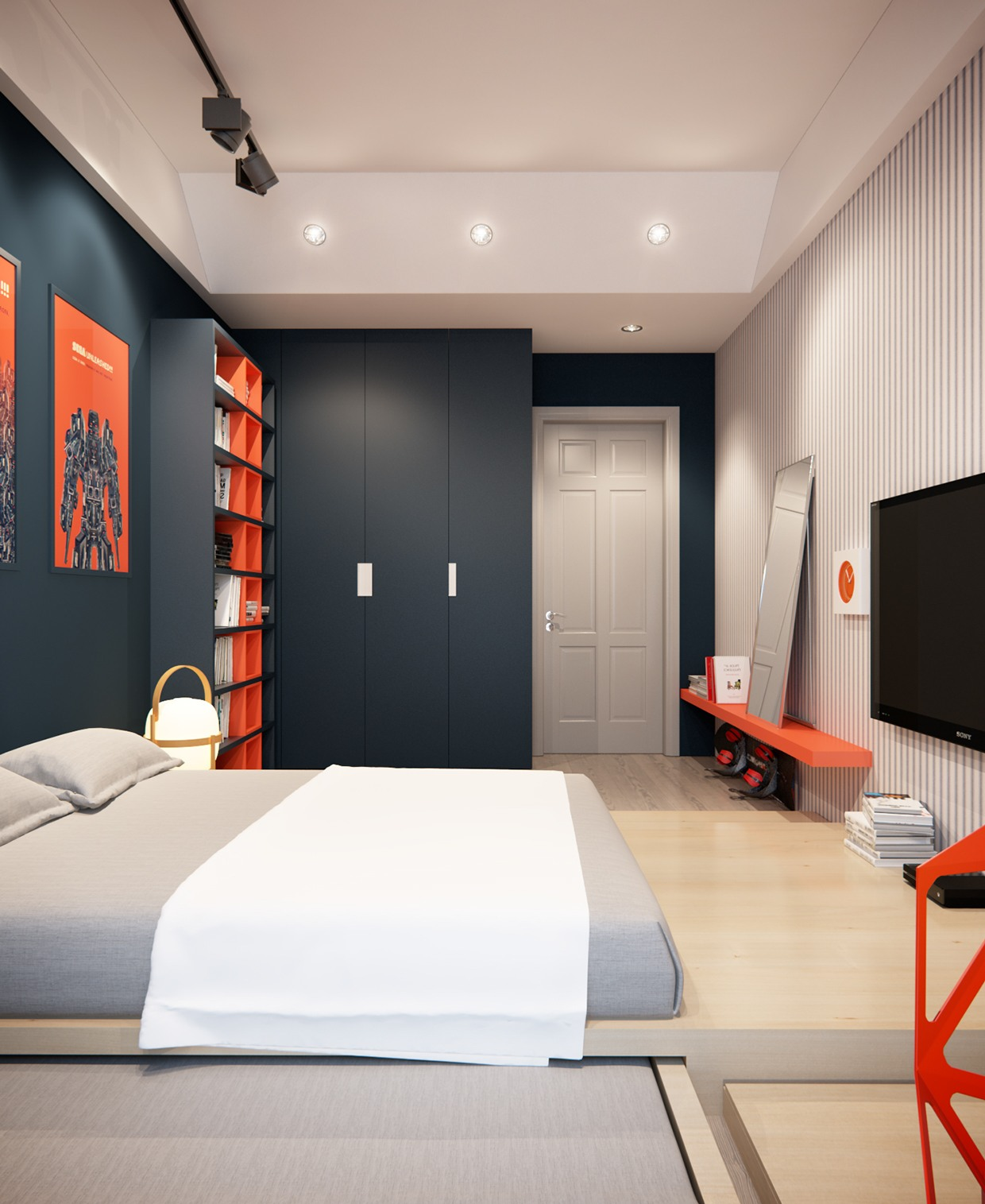 Bedroom Design Ideas Images A Stylish Apartment With Classic Design Features