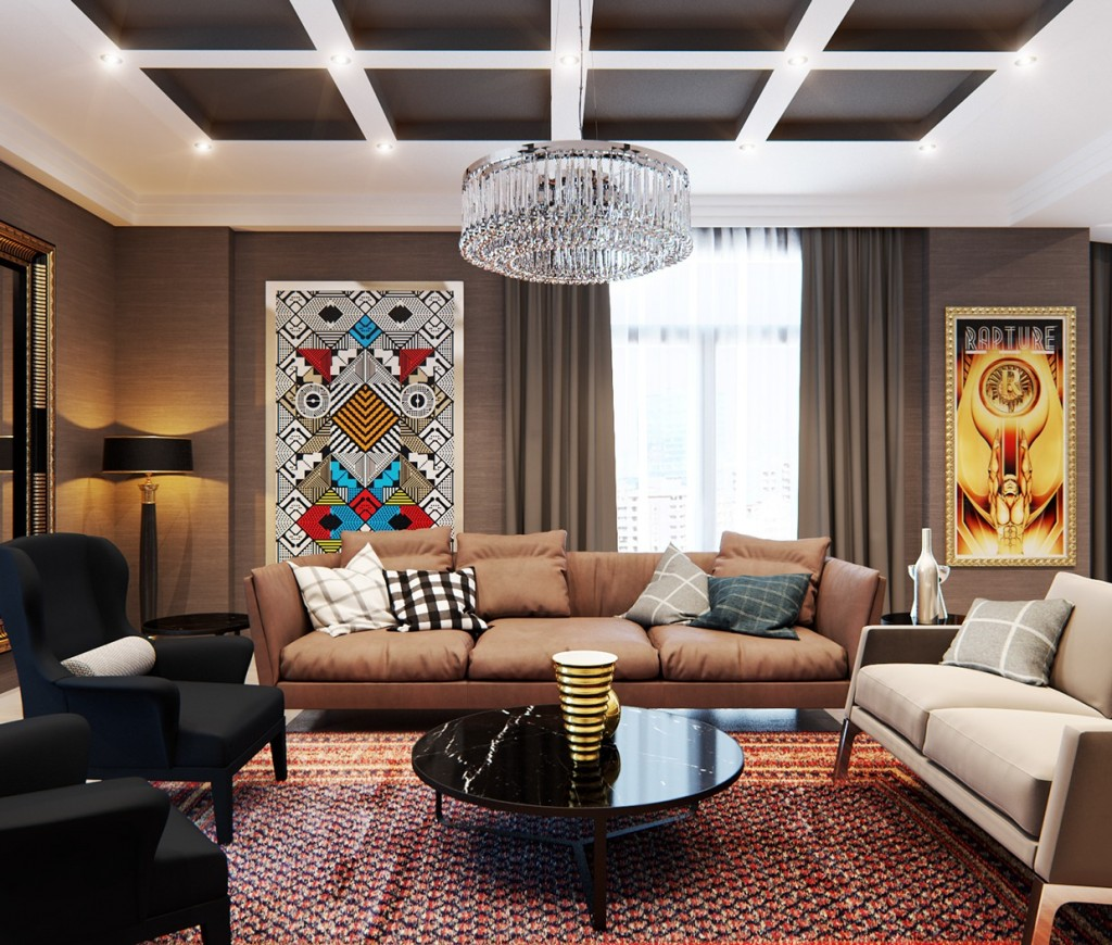 Home Und Design A Stylish Apartment With Classic Design Features