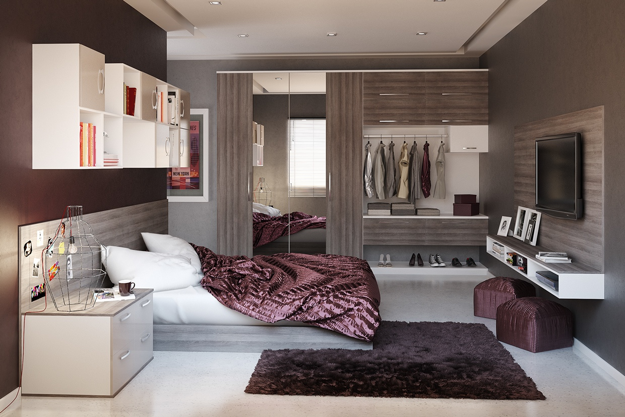 Modern Bedroom Design Ideas For Rooms Of Any Size - Moderne Einrichtungsideen