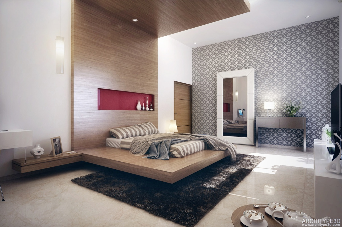 Modern Bedroom Walls Modern Bedroom Design Ideas For Rooms Of Any Size