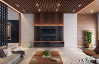 Interior Design Close To Nature: Rich Wood Themes And