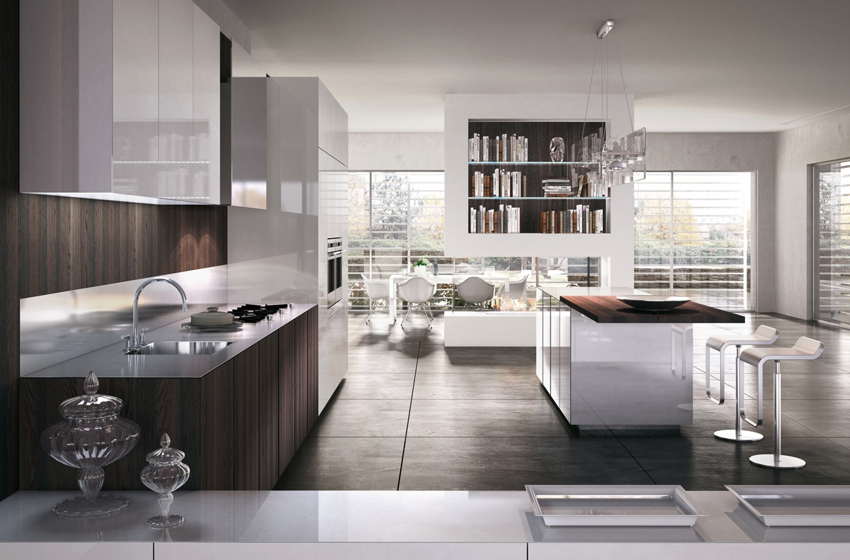 Cucina Ultramoderna Gorgeously Minimal Kitchens With Perfect Organization