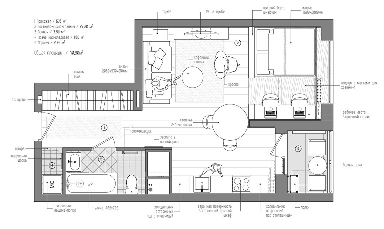 studio apartment floor plan interior design ideas floor plans project designed christos fytilis floor plan