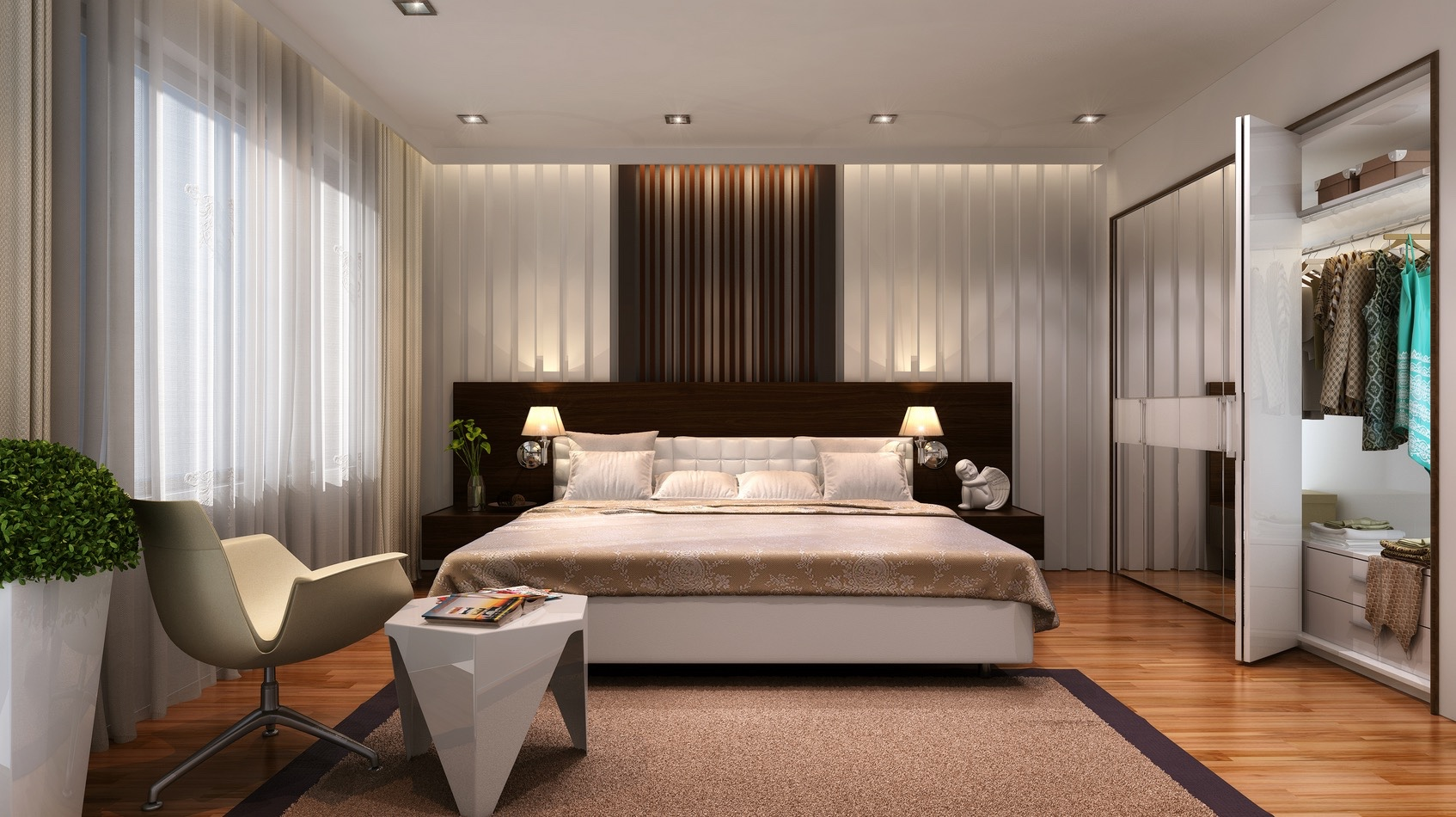 Designer Bedroom Ideas 21 Cool Bedrooms For Clean And Simple Design Inspiration