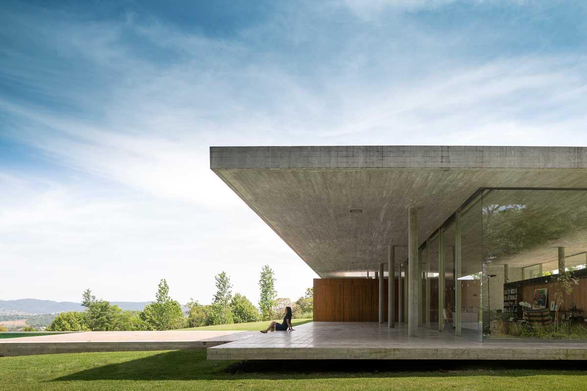 concrete house terrace design interior design ideas modern concrete homes designs plans trend home design decor